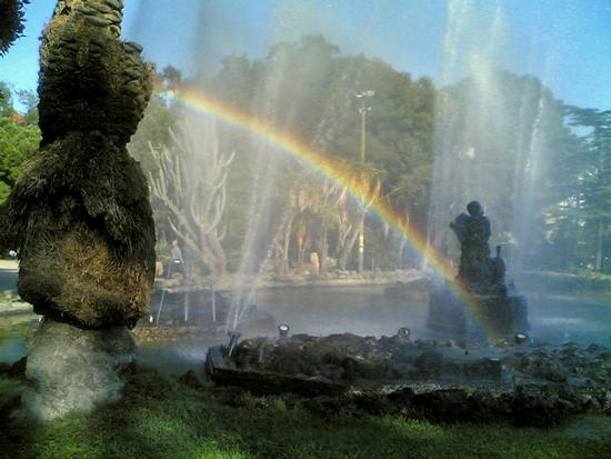 ARCOBALENO AL GIARDINO INGLESE - Palermo (3774 clic)