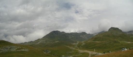 il cervino tra le nuvole - CERVINIA - inserita il 17-Sep-08