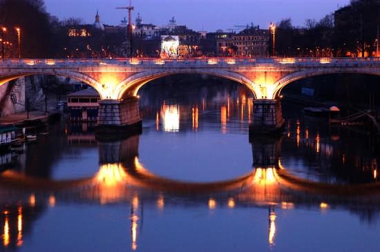 bridge in blue - Roma (2414 clic)
