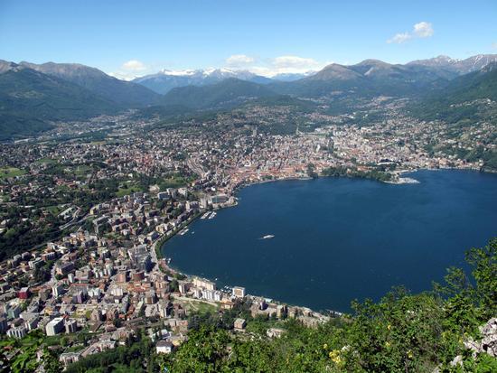 Grande Lugano dall'alto (3734 clic)