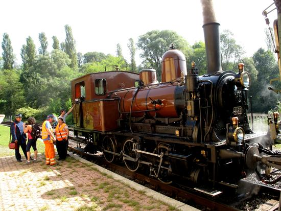 Locomotiva a vapore storica - Cantello (1244 clic)