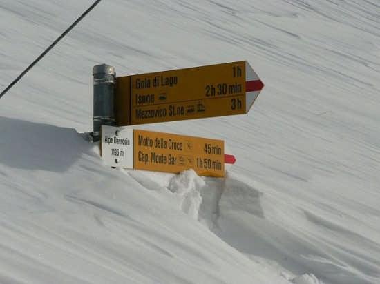Chiare indicazioni dei sentieri - Lugano (2468 clic)