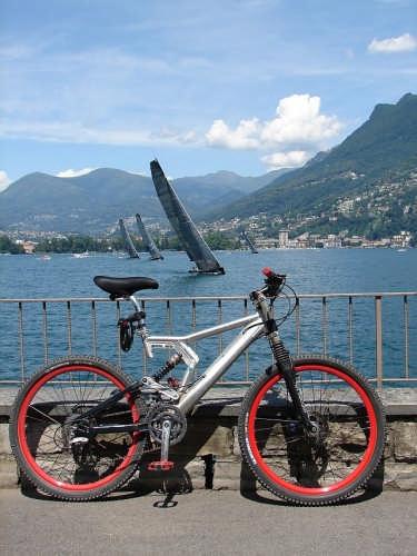 Regata sul golfo di Lugano (2668 clic)