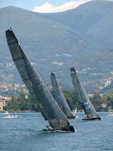 Regata sul golfo di Lugano (2765 clic)