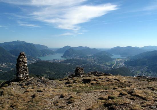 Lugano ed il Ceresio dal Monte Bigorio (2347 clic)