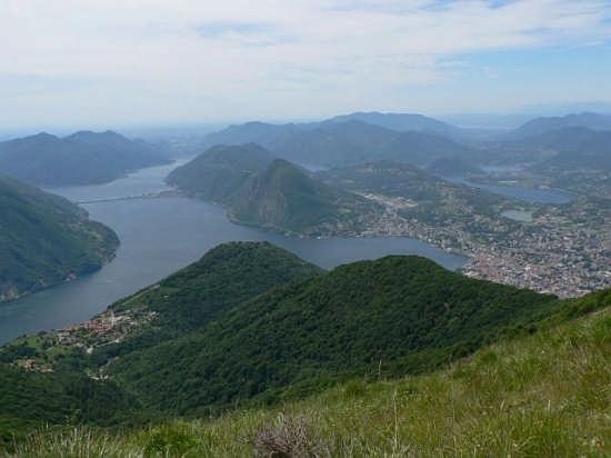 Lugano vista dal Monte Boglia (2152 clic)