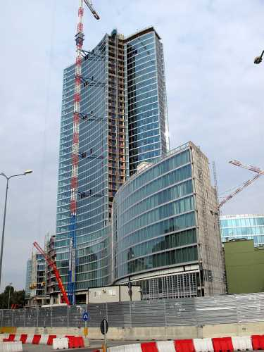 Nuovo palazzo Regione (Pirellone 2) - Milano (10966 clic)