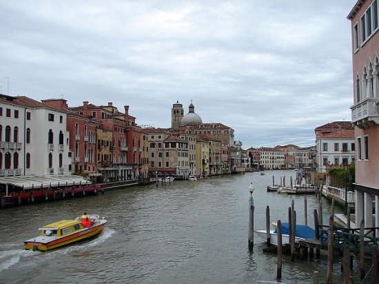 Venezia - Canalgrande dagli Scalzi (2557 clic)