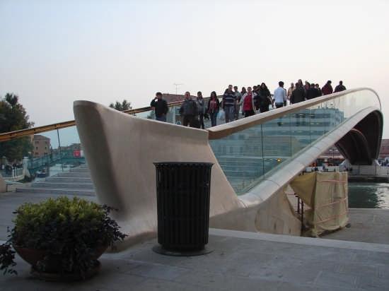 Ponte di Calatrava a Venezia (9332 clic)