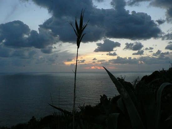 Tramonto invernale - Ventotene (2683 clic)
