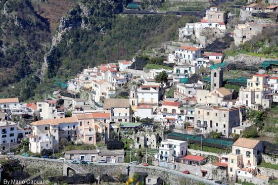 Pontone - Costiera Amalfitana - scorcio  -  - inserita il 06-Apr-11