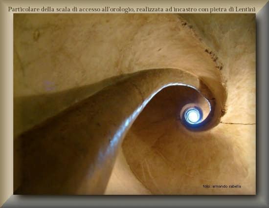 Scala di accesso al torrione del campanile - Licata (2678 clic)