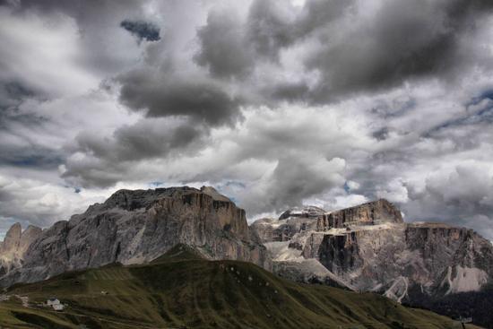 Gruppo del Pordoi e Sella - Passo sella (2016 clic)
