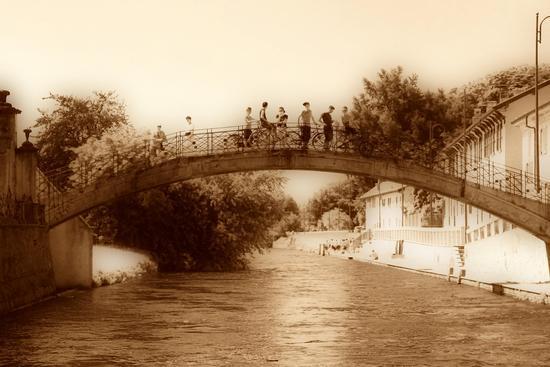 Ponte vecchio - Magenta (2893 clic)