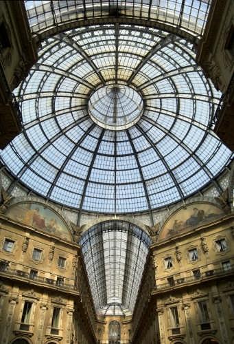 GALLERIA VITTORIO EMANUELE - Milano (3482 clic)