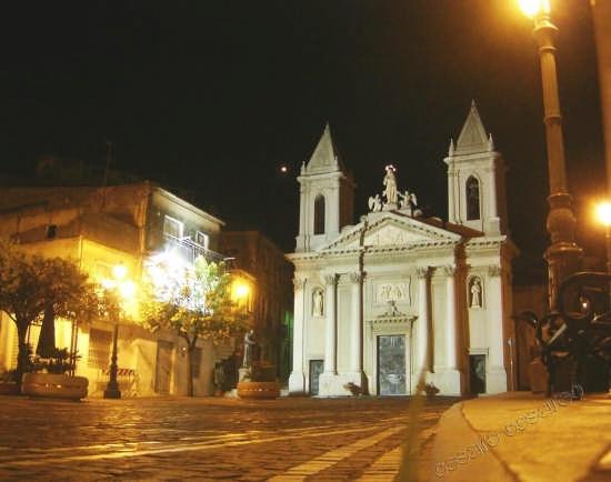 Chiesa dell' Immacolata in notturna - Curinga (4889 clic)