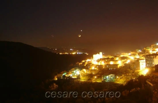 curinga notturno. Luna e Sirio (3576 clic)