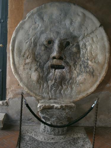 La Bocca della verità - Roma (1212 clic)