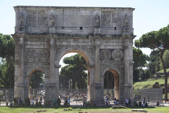 L'Arco di Costantino - Roma (983 clic)