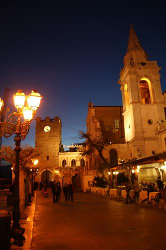 Imbrunire - Taormina (2508 clic)