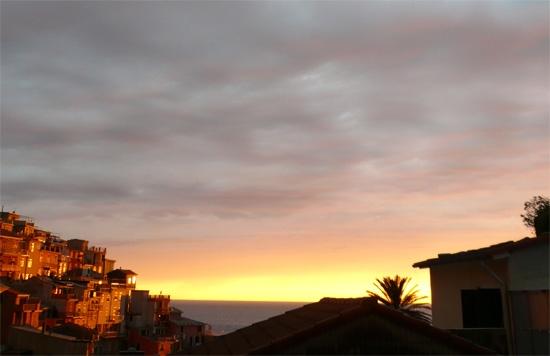 Tramonto Tempestoso - Manarola (4746 clic)