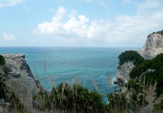 Palmaria - isola dalle alte scogliere - Portovenere (4303 clic)