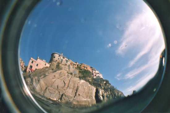 vista dal mare - Manarola (2912 clic)