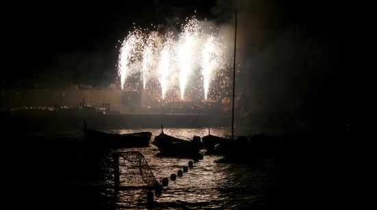 Vernazza - Fuochi di Santa Margherita il 20 Luglio (4679 clic)