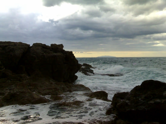 Mare d'inverno - Castiglioncello (2838 clic)