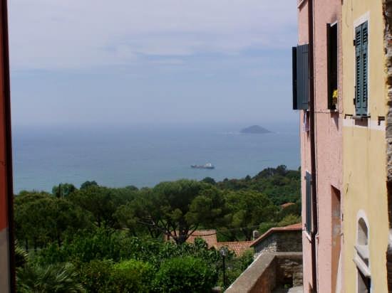 Dalla finestra - Montemarcello (3059 clic)