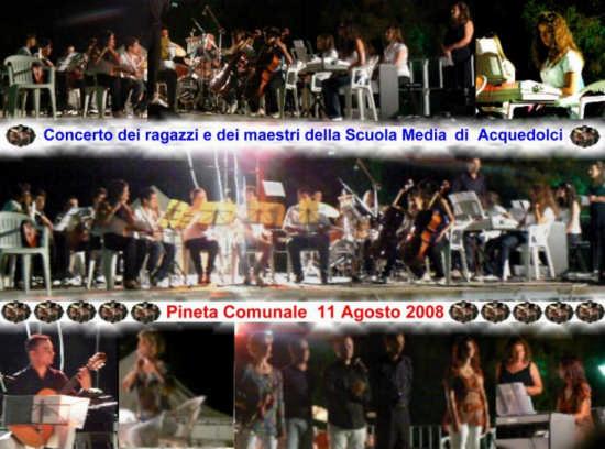CONCERTO ALUNNI E DOCENTI SCUOLE MEDIE - Acquedolci (2968 clic)