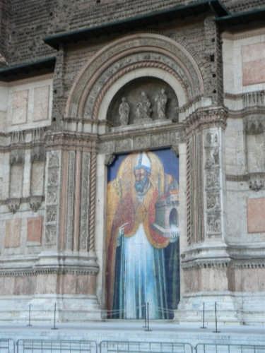 Bologna - portale chiesa di san petronio (4529 clic)