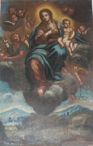 PETTINEO - CHIESA SANTA OLIVA -  MADONNA DEL LATTE (3677 clic)
