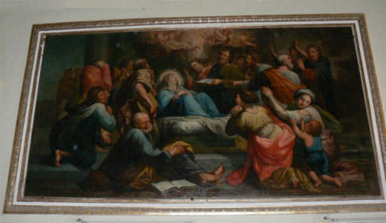 PETTINEO  -   CHIESA MADRE - QUADRO ALTARE CENTRALE (3508 clic)
