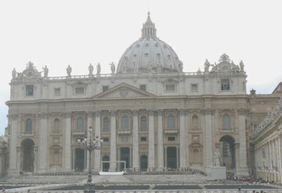 ROMA - BASILICA DI SAN PIETRO (2350 clic)