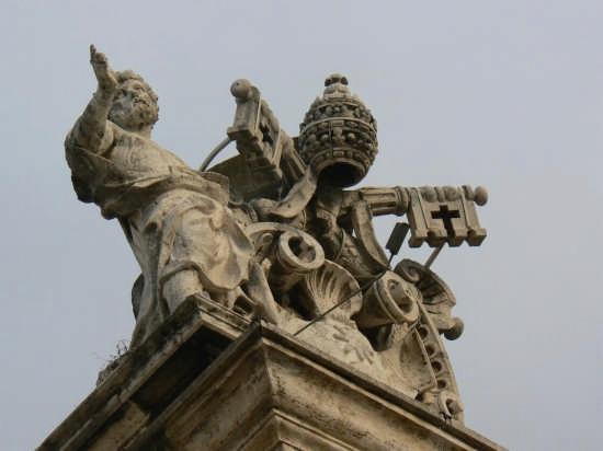 ROMA - LE CHIAVI DI SAN PIETRO (3523 clic)