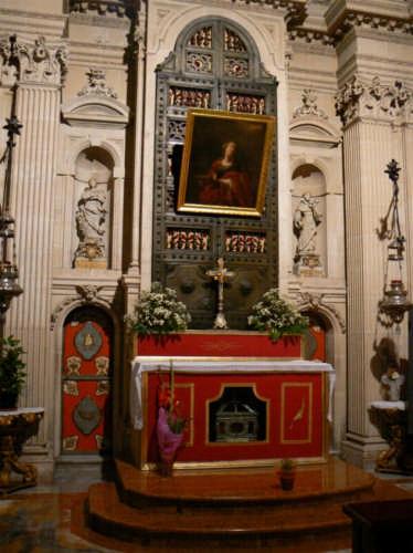SIRACUSA - DUOMO - ALTARE DI SANTA LUCIA (2941 clic)