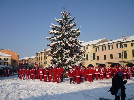 Noale - corsa dei Babbo Natale (978 clic)