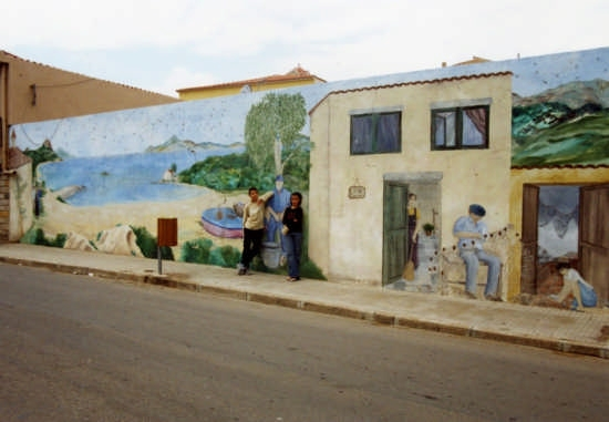 Murale a Cannigione (4710 clic)