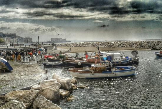 Pescatori a Mergellina Napoli (983 clic)