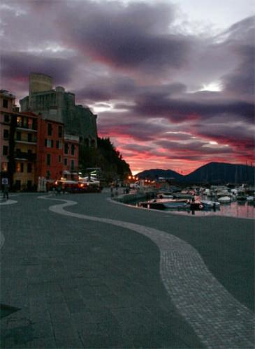 Un tramonto a Lerici (4545 clic)
