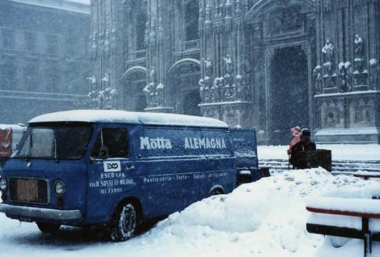 La nevicata del 15 gennaio1985 - Milano (6421 clic)