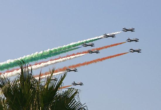 Pattuglia acrobatica nazionale - Palermo (3465 clic)