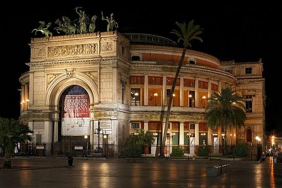 Teatro Politeama - Palermo (8993 clic)