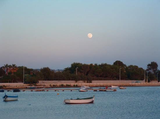 Luna sullo Stagnone - Marsala (3564 clic)