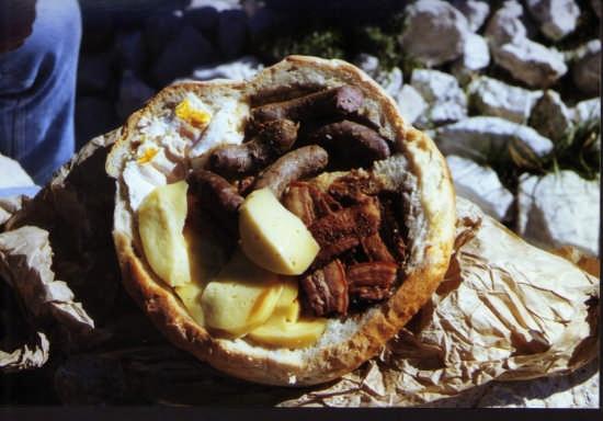 il panino contadino - Barrea (3901 clic)