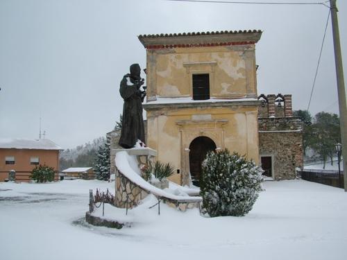 Santa Croce Innevata - Scigliano (2634 clic)