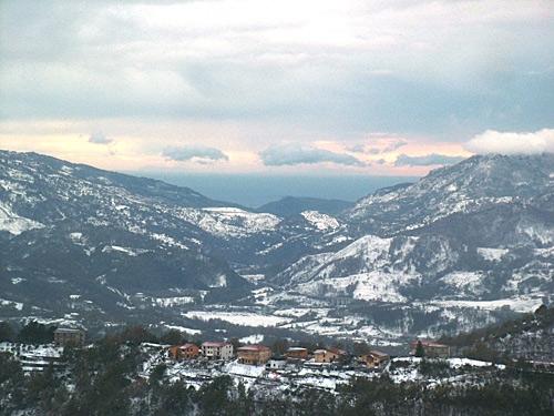 Valle Innevata - Scigliano (3320 clic)