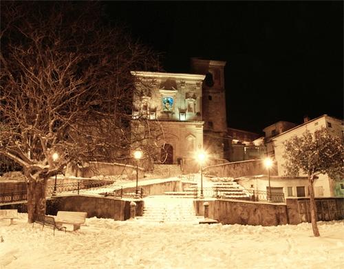 San Giuseppe innevato - Scigliano (2963 clic)