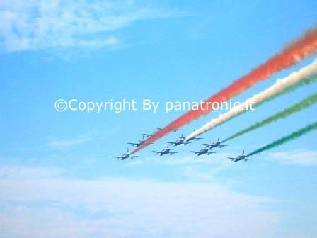 Frecce tricolore a Otranto (1961 clic)